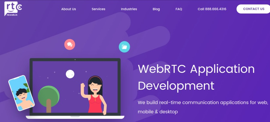 A great web design by RTCWeb.in, Indore, India: