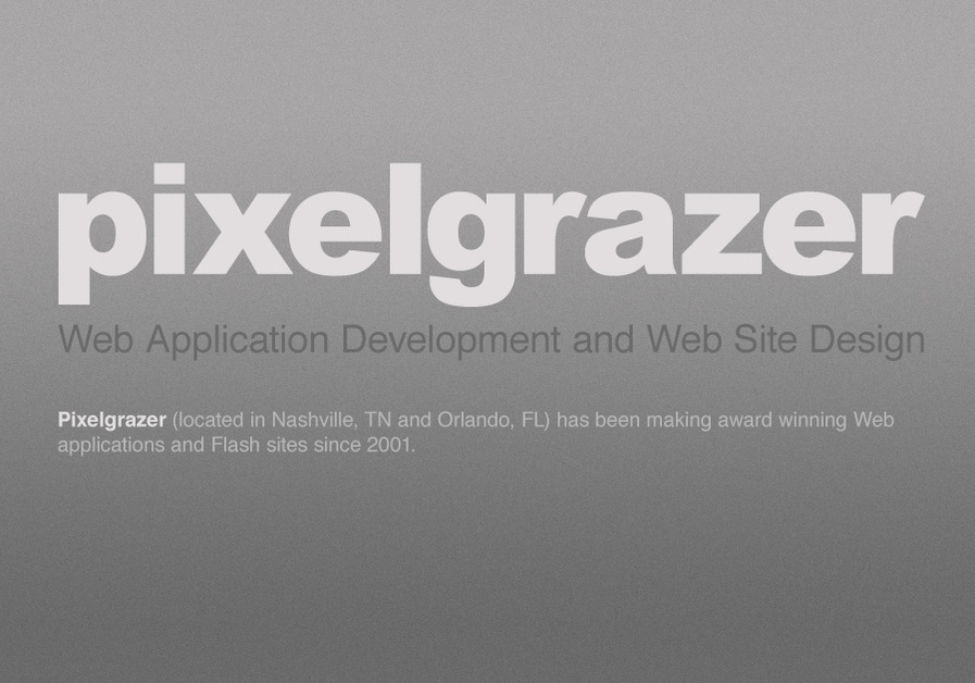 A great web design by Pixelgrazer, Nashville, TN:
