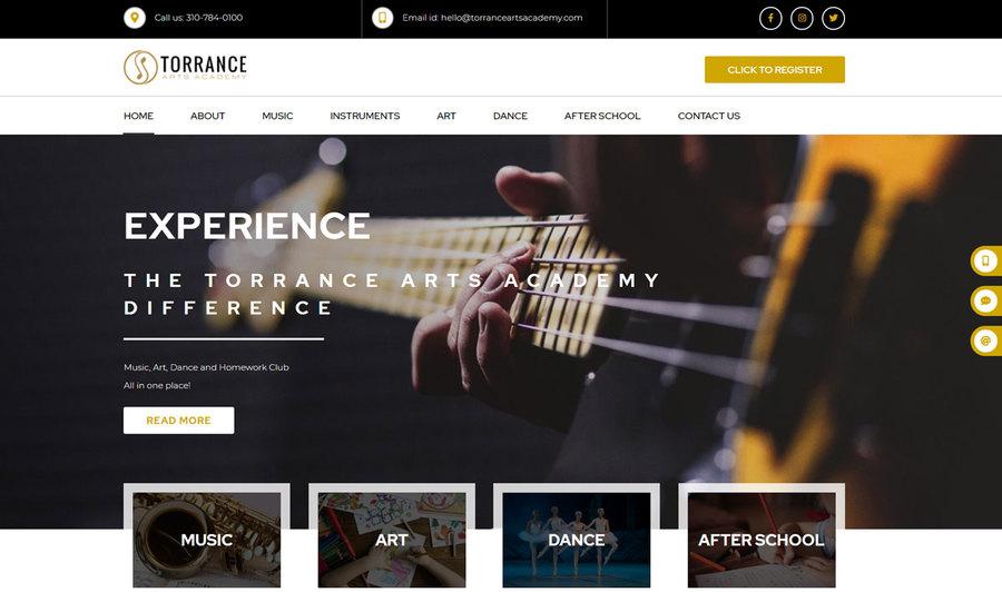 A great web design by Sunlight Media LLC, Los Angeles, CA: Responsive Website, Marketing Website , Music , Wordpress