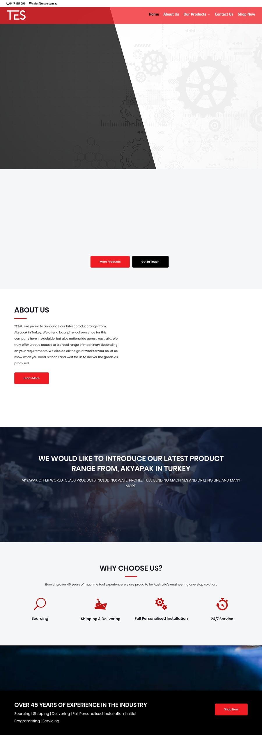 A great web design by International Media House, Adelaide, Australia: