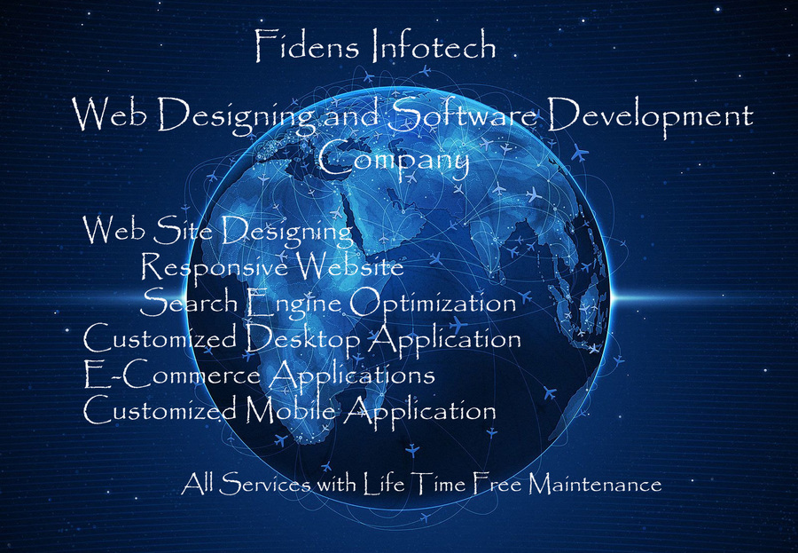 A great web design by Fidens Infotech, Coimbatore, India: