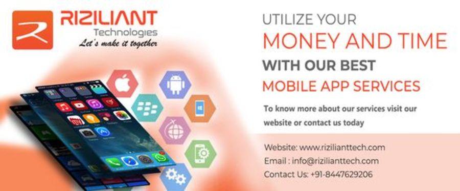A great web design by Riziliant Technologies, Noida, India: