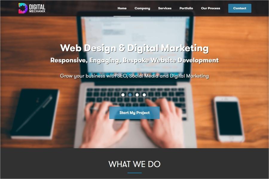 A great web design by Digital Mechanix, London, United Kingdom:
