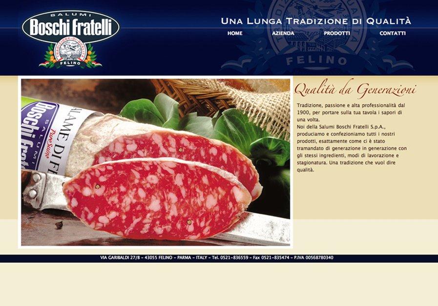 A great web design by Alex Candelari Media Studio, Parma, Italy: