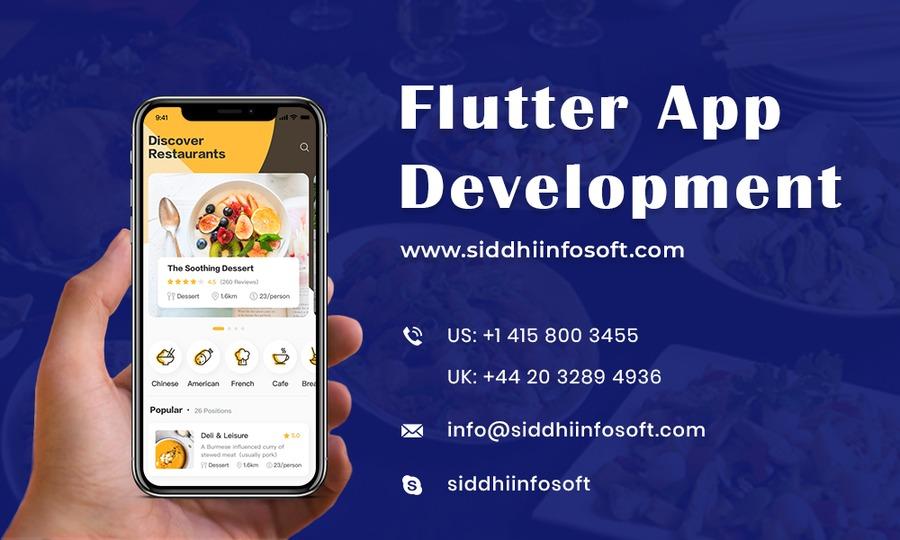 A great web design by Flutter App Development Company - Siddhi Infosoft, San Francisco, CA: