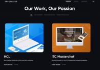 A great web design by ProCreator - UX design Studio, Mumbai, India:
