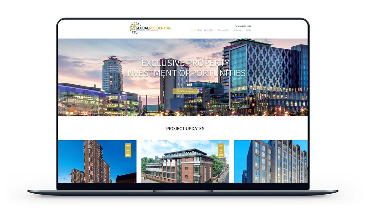 A great web design by Blue Sky Creative Ltd, London, United Kingdom: Responsive Website, Marketing Website , Real Estate , Wordpress