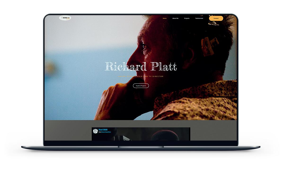 A great web design by Blue Sky Creative Ltd, London, United Kingdom: Responsive Website, Portfolio , Film & Video , Wordpress