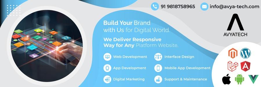 A great web design by Avya Technology Pvt Ltd, Delhi, India: