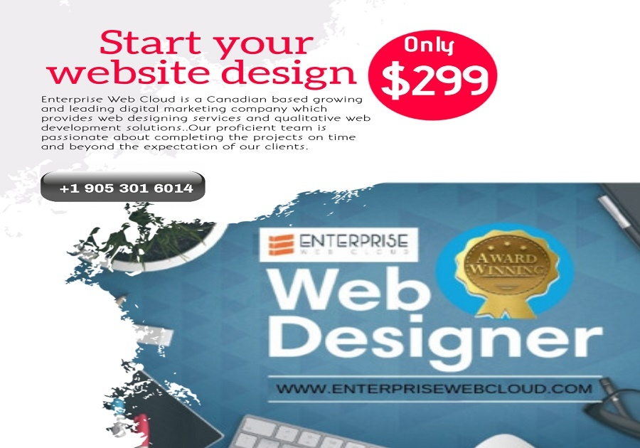 A great web design by Enterprise Web Cloud, Mississauga, Canada: