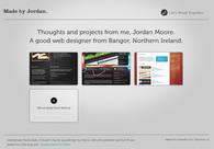A great web design by Made by Jordan, Belfast, United Kingdom: