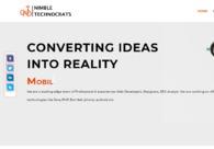 A great web design by Nimble Technocrats, Jalandhar, India: