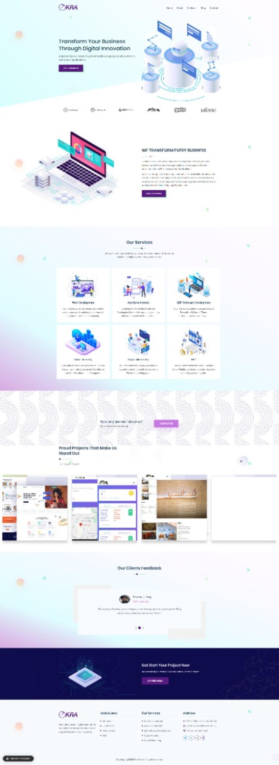 A great web design by Okratech Dubai, Dubai, United Arab Emirates: Website, E-Commerce , Software , Wordpress