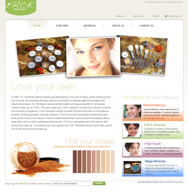A great web design by CoreyMade, Houston, TX: