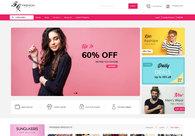 A great web design by Syed Noman Ali, Karachi, Pakistan: Responsive Website, E-Commerce , Fashion , Wordpress