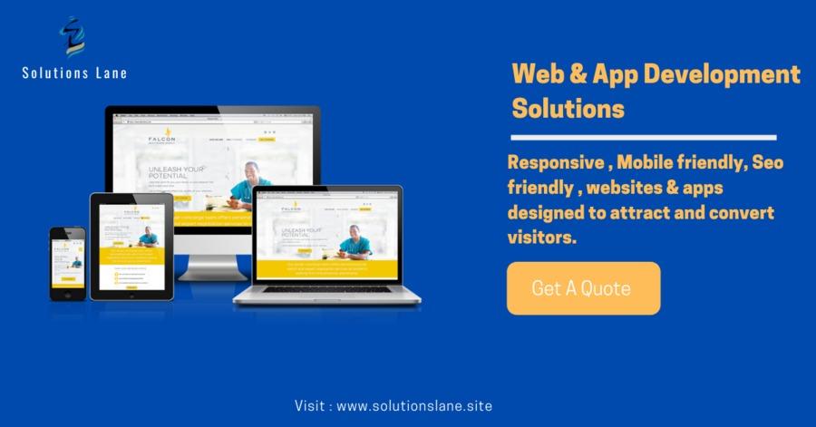 A great web design by Solutions Lane | Web Developer in Kolkata, Indi, India: