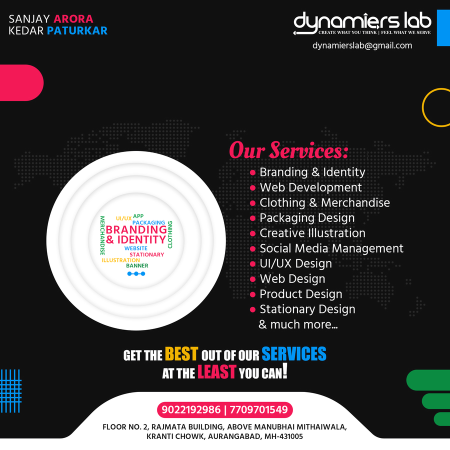 A great web design by Dynamiers Lab, Aurangabad, India: