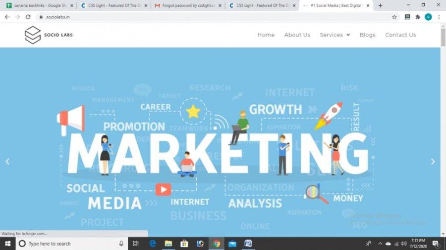 A great web design by Sociolabs, Delhi, India: