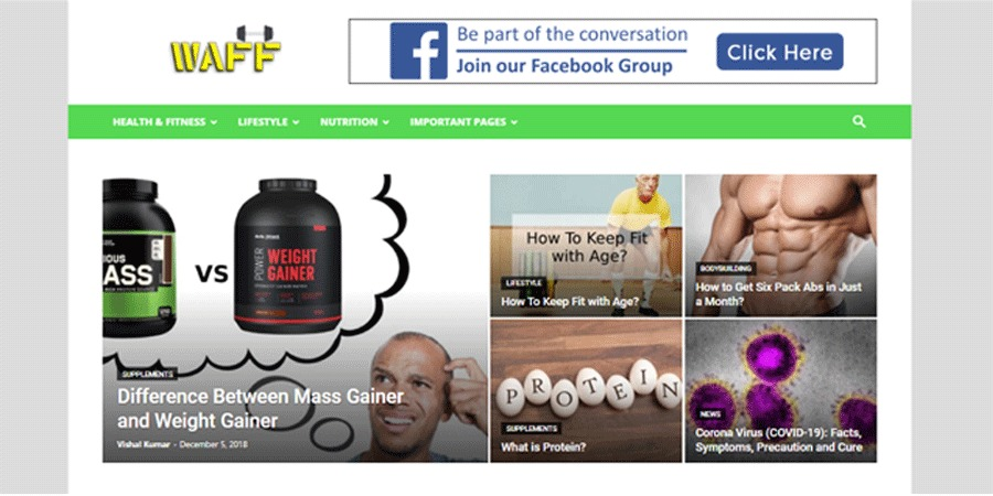 A great web design by Marketing Panda, Ghaziabad, India: