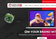 A great web design by LOGO IN 50 MINUTES, Alexandria, VA: