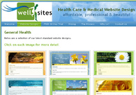 A great web design by Wellsites - Health Care , Sydney, Australia: