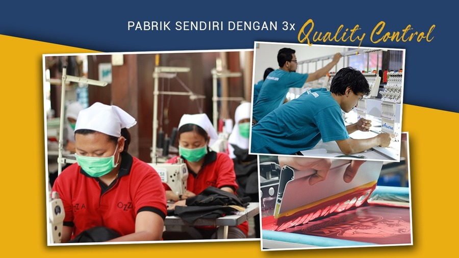 A great web design by Ozza Konveksi, Yogyakarta, Indonesia: