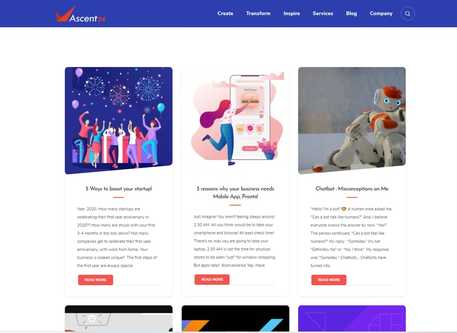 A great web design by Ascent24 Technologies , Coimbatore, India: