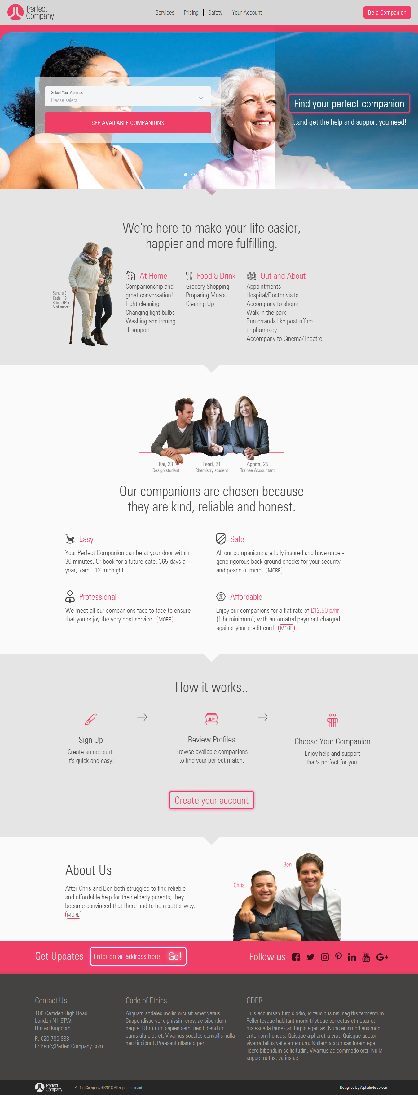 A great web design by 3Braintechnologies, Ahmedabad, India: