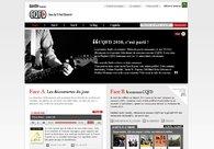 A great web design by UNAMI, Paris, France: