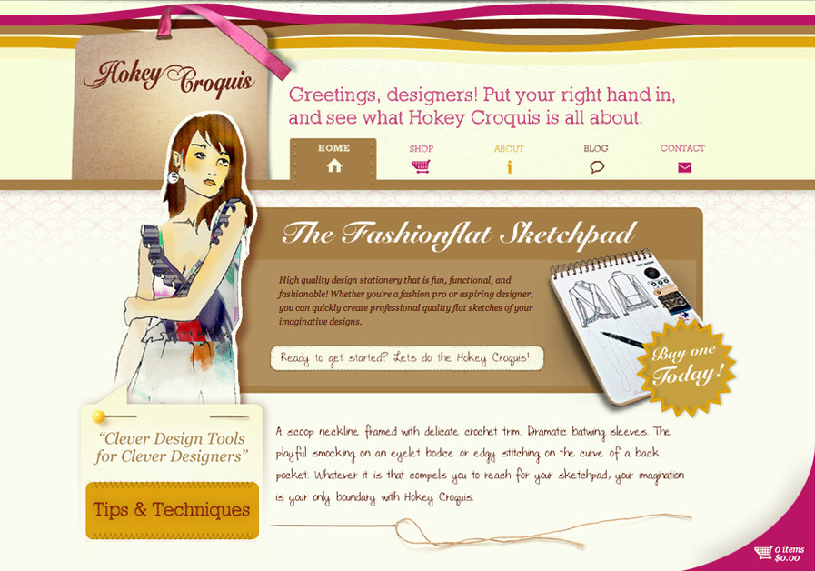 A great web design by Creativepayne, Seattle, WA: