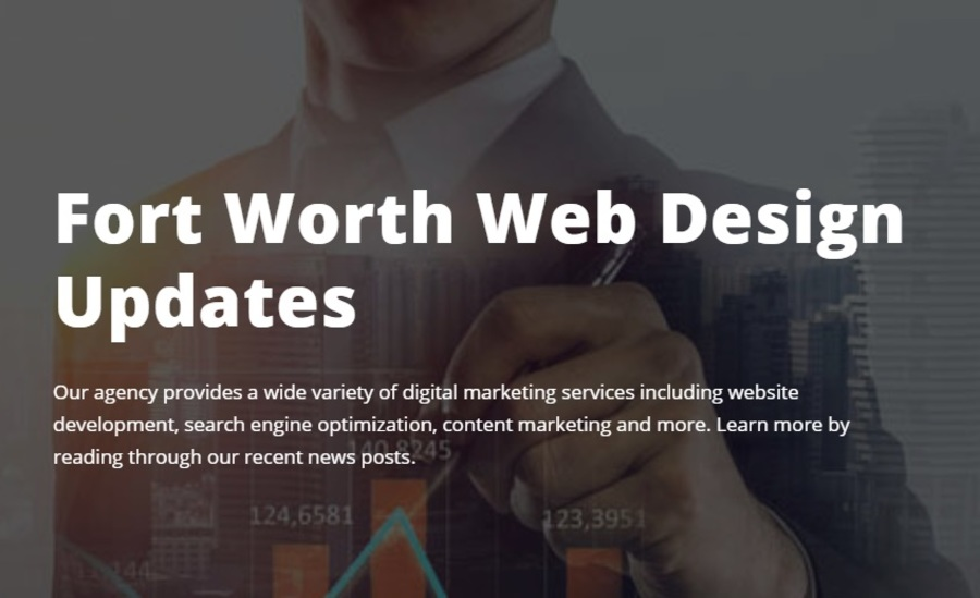 A great web design by Fort Worth Web Design, Fort Worth, TX: