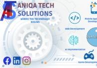 A great web design by Aniqa Tech Solutions, Karachi, Pakistan: