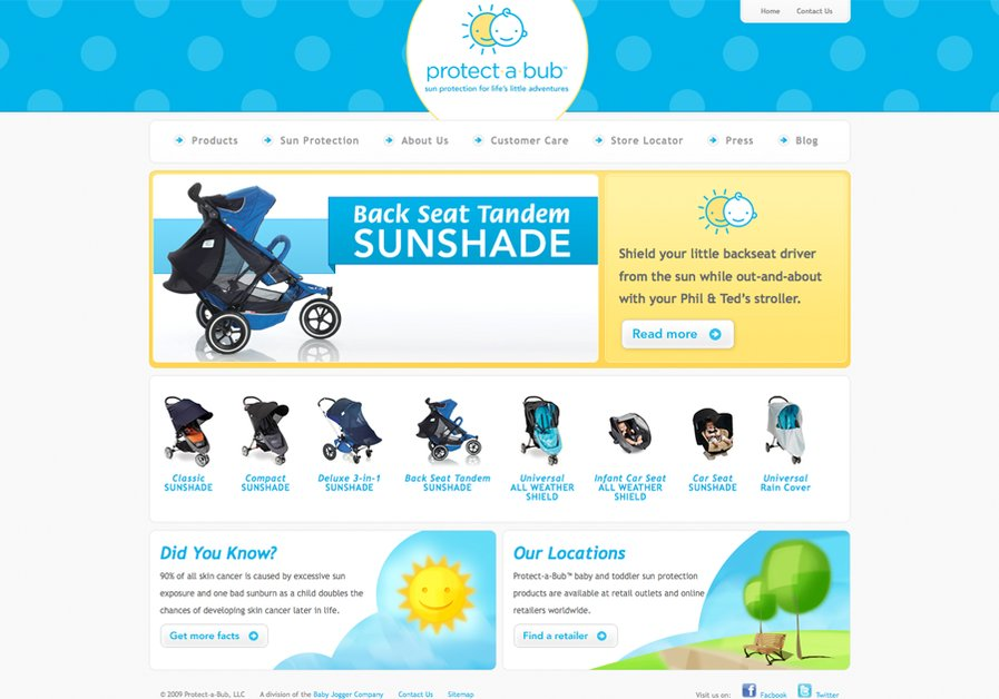 A great web design by Luke Pieczynski, Richmond, VA: