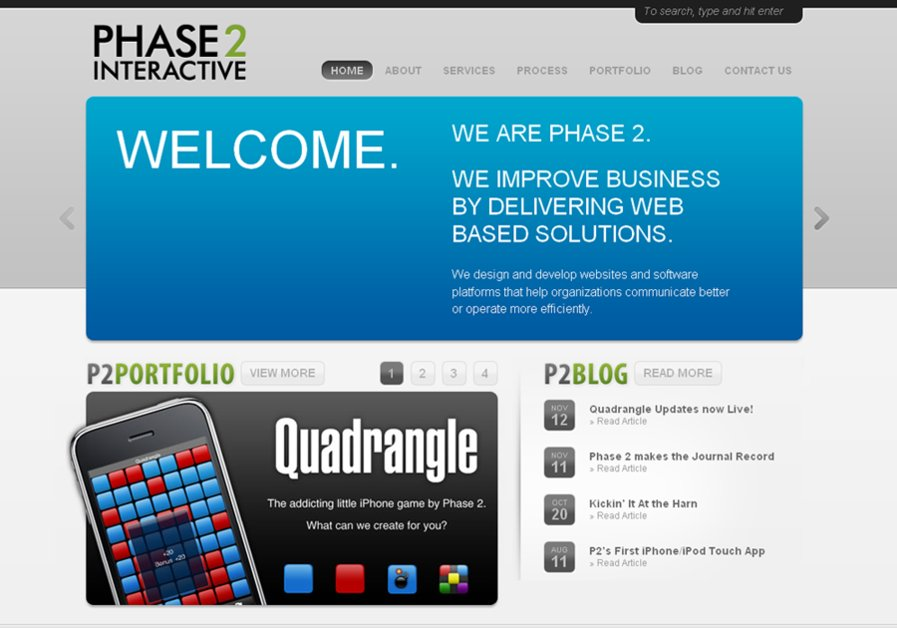 A great web design by Phase 2 Interactive, Oklahoma City, OK:
