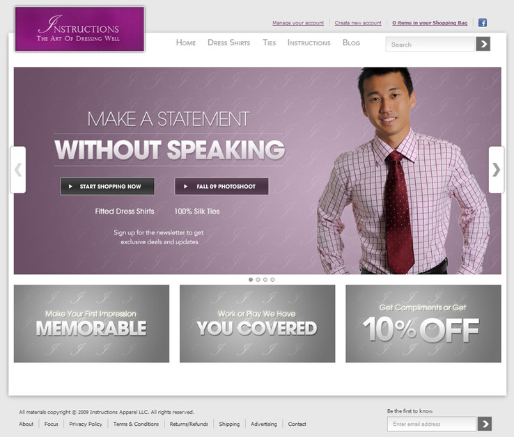 A great web design by Richard Session, Detroit, MI:
