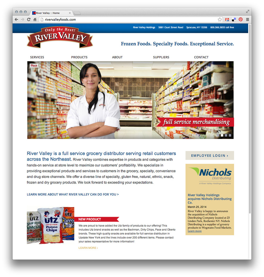 A great web design by Stressdesign, Syracuse, NY: Responsive Website, Marketing Website , Food & Beverage , PHP