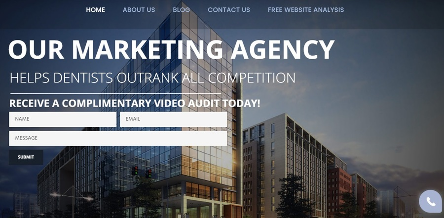 A great web design by Dental SEO, Washington, DC: