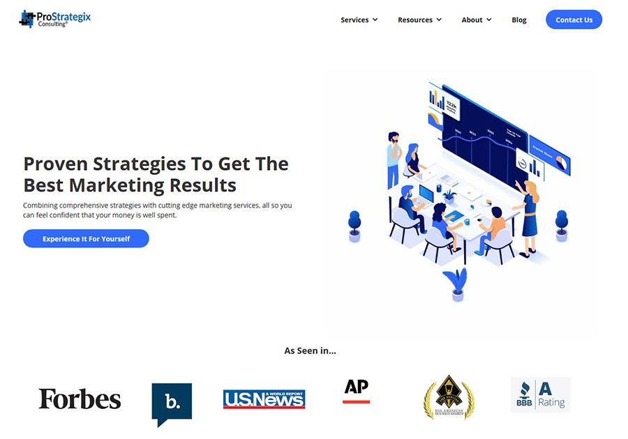 A great web design by ProStrategix, New York, NY: Responsive Website, Marketing Website , Marketing , Other