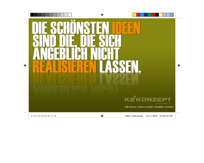 A great web design by K2KONZEPT GmbH, Hamburg, Germany: