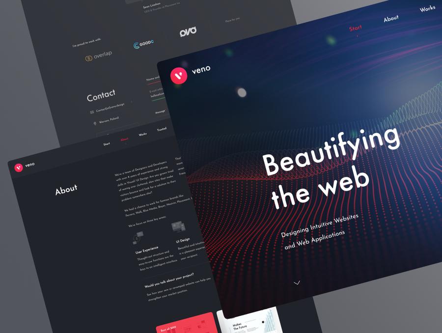 A great web design by Veno Design, Warsaw, Poland: Website, Portfolio , Software , Other