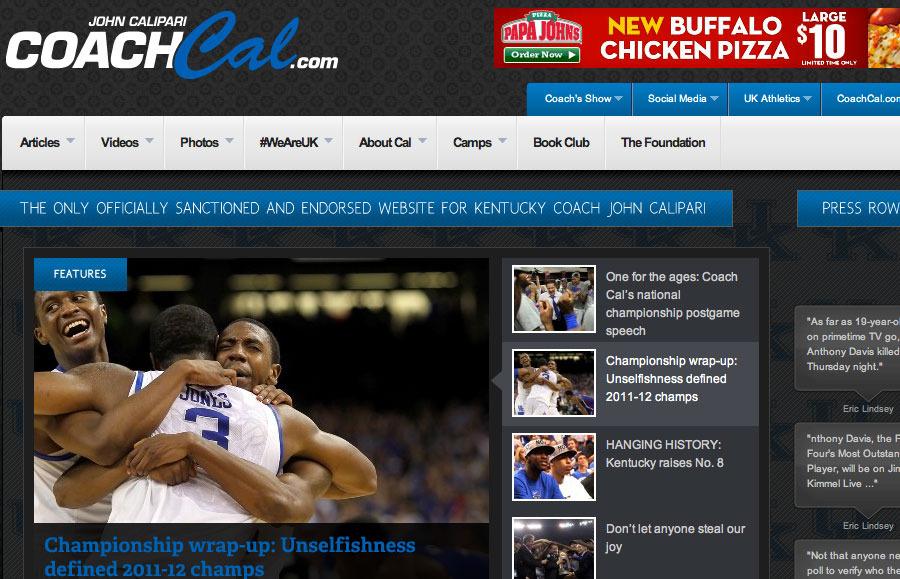 A great web design by WebMedley, Lexington, KY: