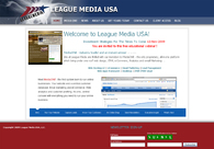 A great web design by League Media USA: