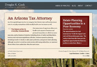 A great web design by ESQ Creative, Phoenix, AZ: