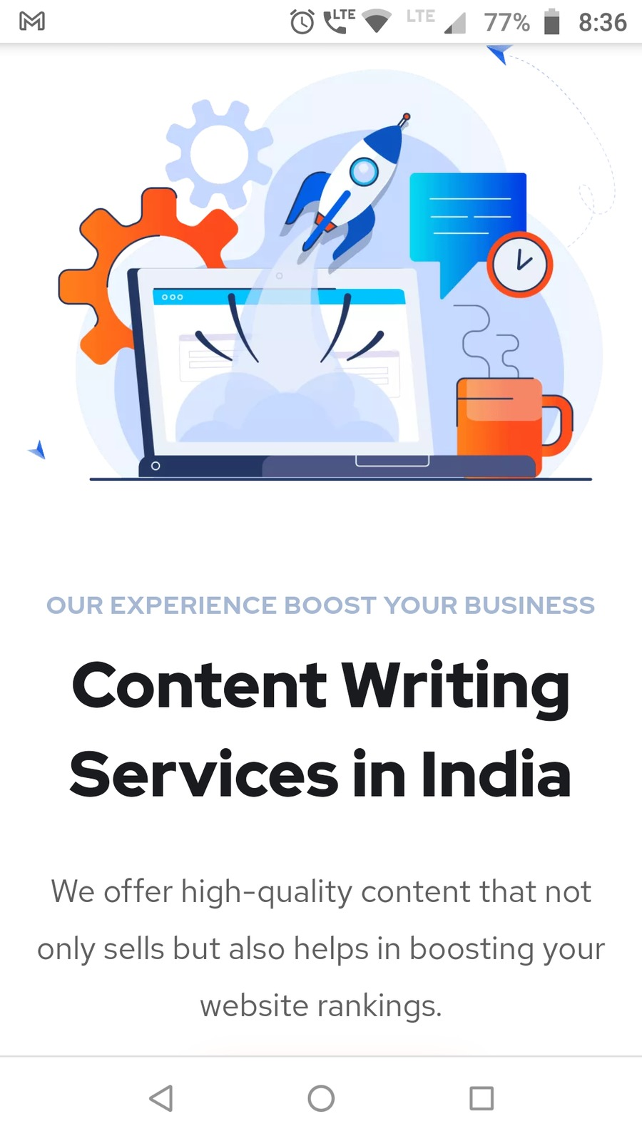 A great web design by Webstod, Delhi, India: