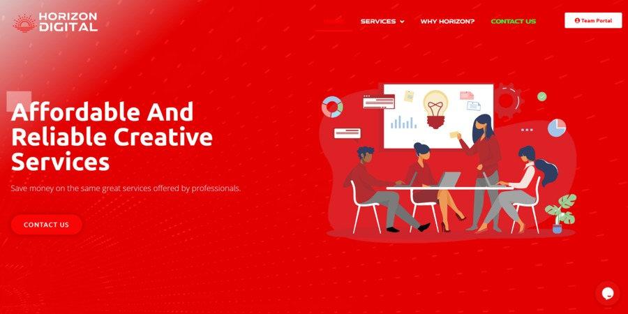 A great web design by Horizon Digital, Washington D.c., DC: