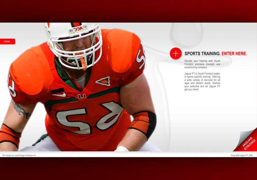 A great web design by Liquid Design, Miami, FL: