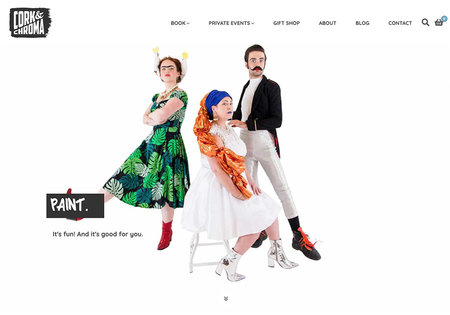 A great web design by Studio 313, Sydney, Australia: