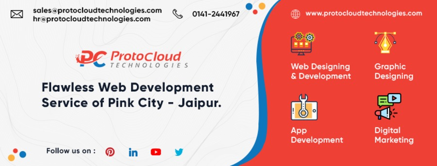 A great web design by Protocloud Technologies Pvt Ltd, Jaipur City, India: