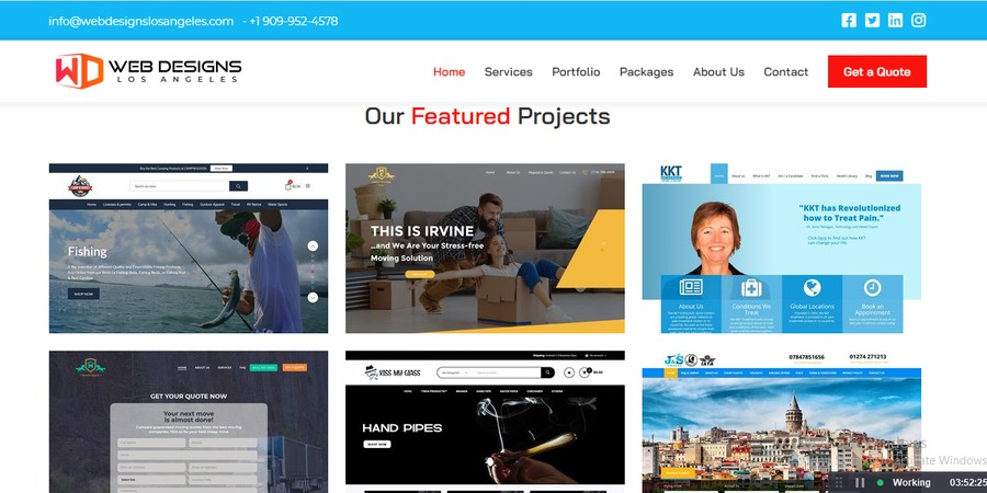 A great web design by Web Designs Los Angeles, Los Angeles, CA: Website, E-Commerce , Technology , Wordpress