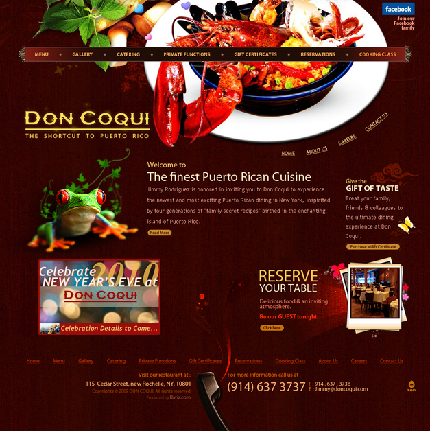 A great web design by BlazeDream - India, London, United Kingdom:
